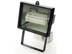 Floodlight with energy-saving lamp