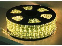 Lichtschlauch 44m, gelb, 36 Lämpchen