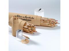Кутия с моливи - големи - 24 цвята