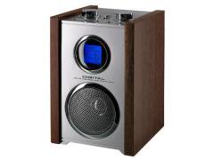 AM/FM  радио със дървен дизайн