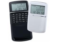 Джобен калкулатор с часовник