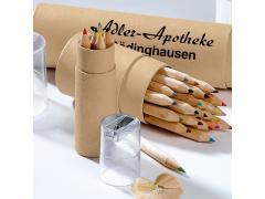 Кутия с моливи 6 цвята