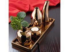 Комплект вази Меден блясък - 5 части