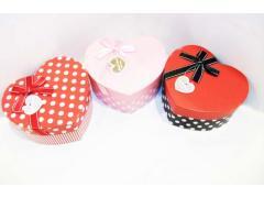 Подаръчна кутия - сърце - голяма