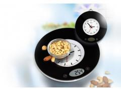 Кухненска везна с часовник